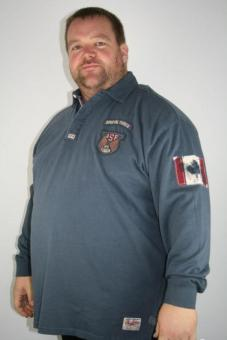 """SALE! Kitaro Polosweat 135206 271 """"Special Forces"""" 3+5+7XL"""