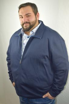 Kitaro Sweatjacke 166252-210 in 6-8XL
