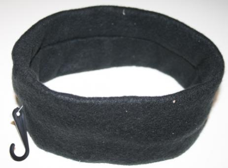 Jeans Factory 50cm Umfang Stirnband schwarz fleece